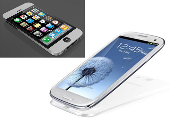 01 Samsung Galaxy S III vs iPhone 5
