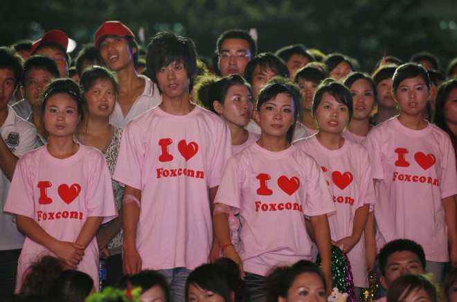 Foxconn to have 1 million robots by 2014 to manufacture products