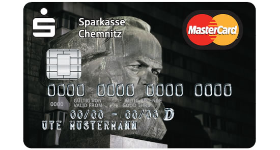 Karl Marx credit cards for the communist in you