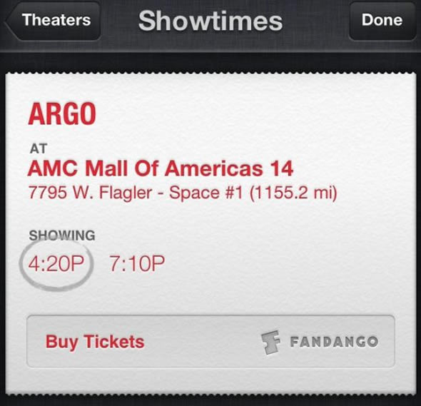 iOS 6.1 Siri buys movie tickets
