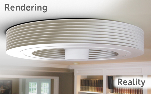 Exhale The Bladeless Ceiling Fan That Creates A Vortex In