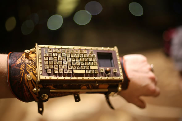 steampunk-typewriter