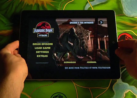Jurassic Park game enters the iPad 2 world