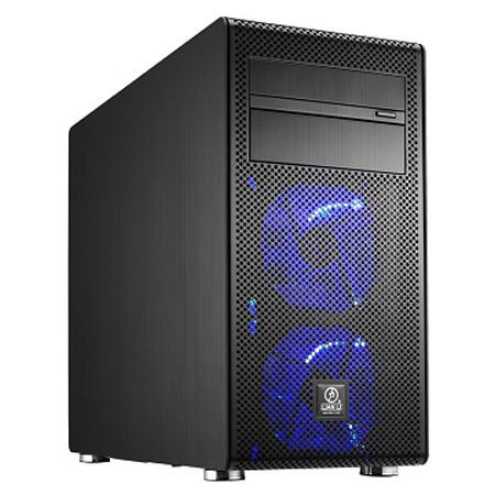 Lian Li Mini Tower PC-V600F aluminum chassis needs no tools