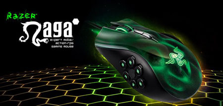 Razer Naga Hex blesses multiplayer gamers