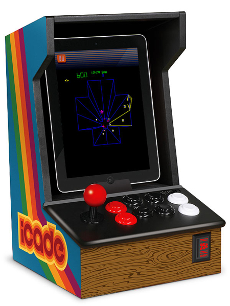 iCade brings the world of Arcade to your iPad