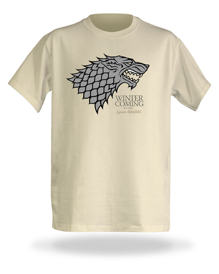 Winter has come and so has the House of Stark T-shirt