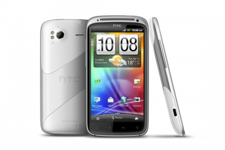 White HTC Sensation to arrive on first day of march, running Android 4