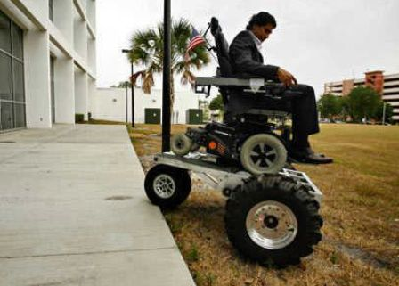 All terrain wheelchair could reduce paralyzed blues Newlaunches – All Terrain Chair