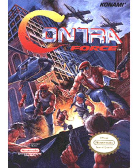 Contra Force NES Boxart. game nes contra force. modern combat 3 motorola de