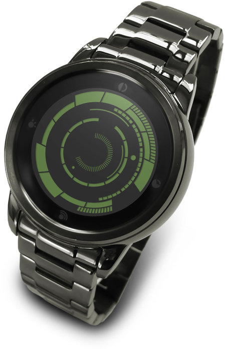 Kisai Rogue Touch, Tokyoflash's touchscreen LCD wrist watch with LED backlighting