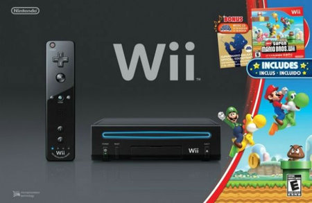 Nintendo America to introduce new black Wii with Super Mario Galaxy soundtrack CD