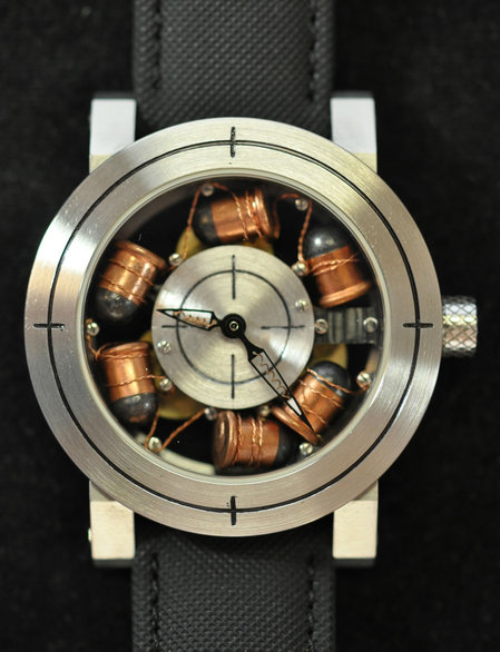 Artya's Son of a Gun watch comes with bullets in its face