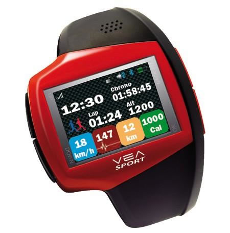VEA Sportive Watch is a miniaturized wrist clone of a smartphone