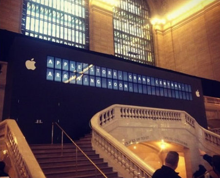 World's largest Apple store at Grand Central Terminal delays opening to 9th of December