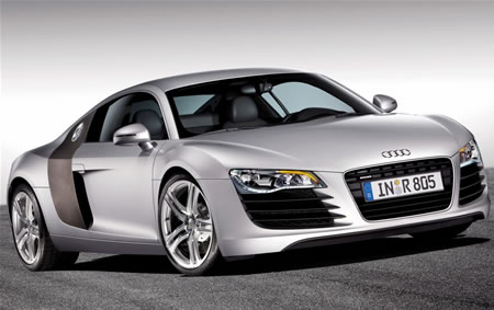 Audi R8 unveiled Achtung Baby