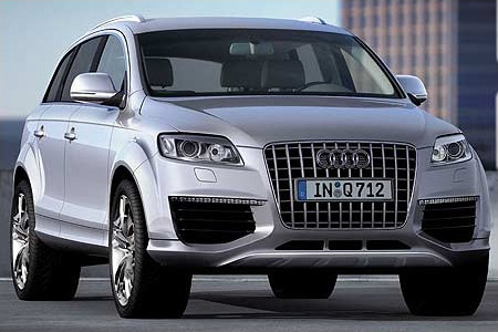 2007 Audi Q7 V12 TDI the most powerful Diesel car