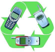 recycle cell phones for machine