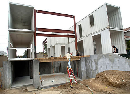 storage container house cost