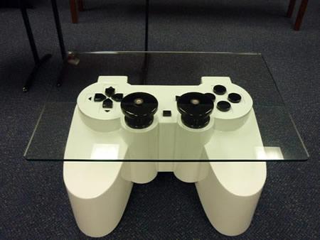 Australian Gamer Designs Brilliant PS3 Controller Coffee Table