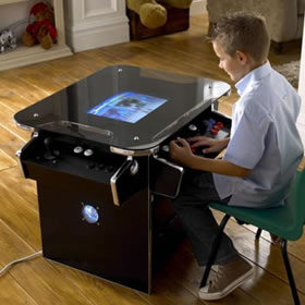 Sit Upright with Synergy Arcade Cabinet while gaming