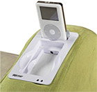 iRocker gaming chair with iPod dock