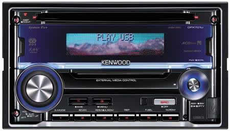 Kenwood launches 6 car audio systems with USB connection
