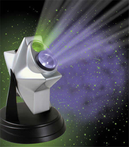 the laser stars projector will light up your party