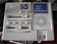 MusicJam portable iPod audio mixer