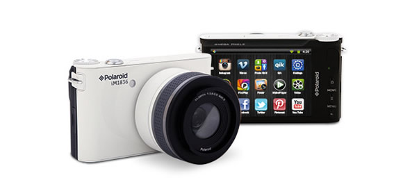 CES: Long awaited Polaroid iM1836 Android Camera displayed