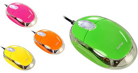 saitek notebook mouse adds colors to your notebook