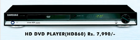 Samsung offers HD-DVD player for $ 175