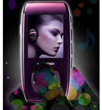 Samsung YP-TP in deep purple color