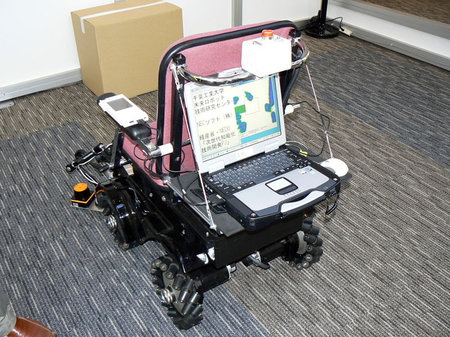 tron_wheelchair-2-thumb-450x337 - The Technology That Gives Stephen Hawking a Voice - Science and Research