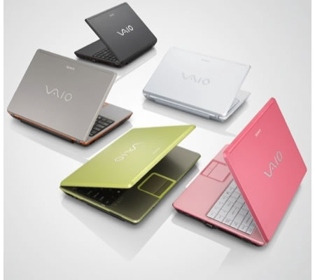 Sony Vaio C series colorful way to say welcome