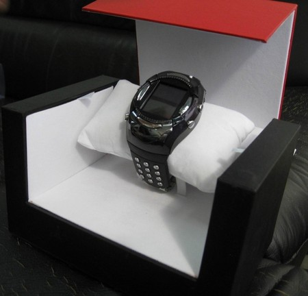 Mobile Phone Led Watch