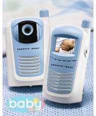 Watch Your Baby Sleep With Infrared Wireless Video Monitor
