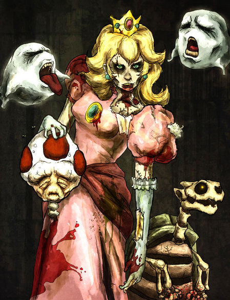 Flesh Eating Princess Peach Is Still Hot
