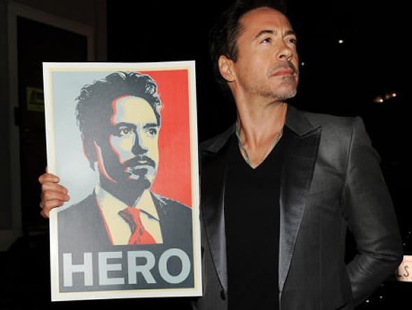 Robert Downey Jr. signs for next two Avengers films, endorses HTC
