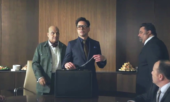 HTC's new face, Robert Downey Jr. plays psychic in brief teaser