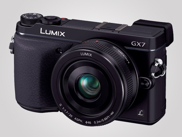 Panasonic's Lumix DMC-GX7 mirror-less camera features old-school styling with the latest in compact camera functionality