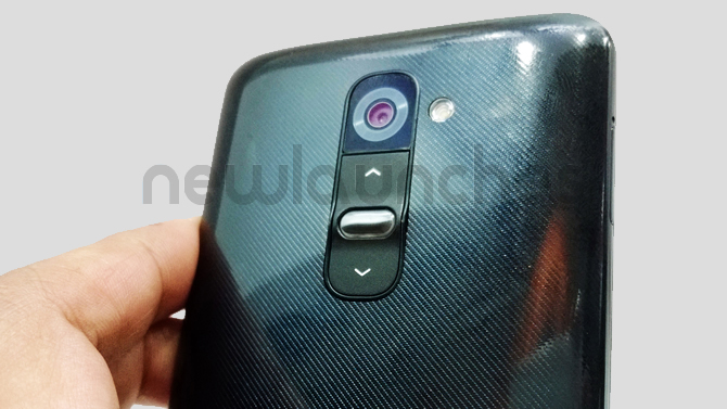 LG G2 Rear Controls