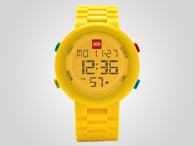 The LEGO Watch System are colorful and hopefully inexpensive customizaable watches for adults