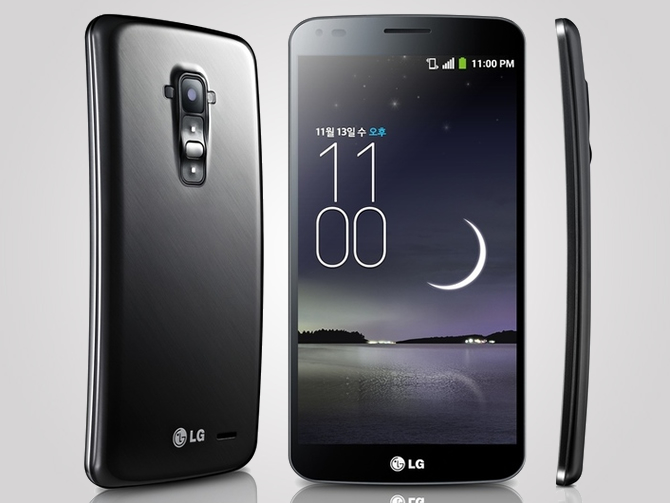 LG officially releases their curved handset, the G Flex to counter Samsung's Galaxy Round
