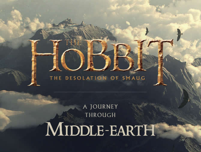 Google creates an interactive tour of Middle Earth for the upcoming Hobbit movie