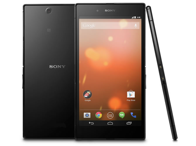 Sony Z Ultra Google Play Edition Sony Z Ultra Google Play Edition with stock Android 4.4 announced for $649