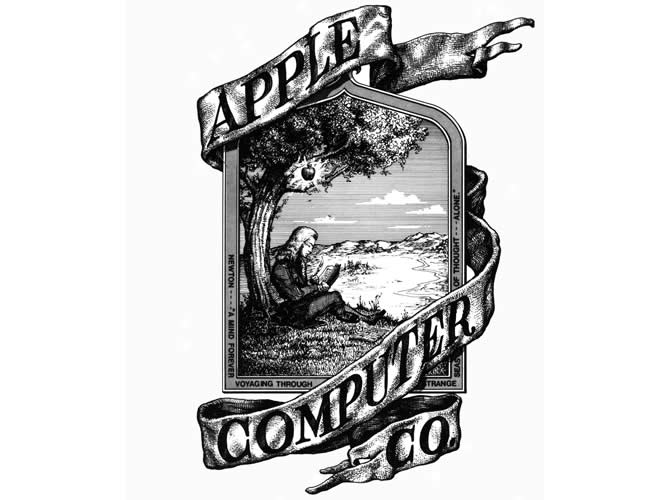 apple-isaac-newton-logo