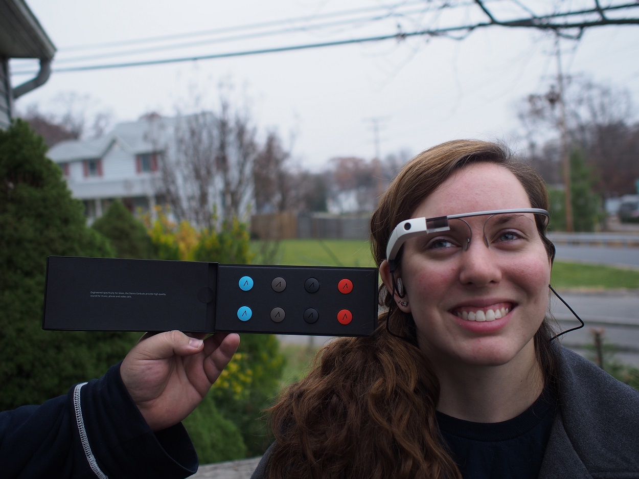 Google Glass gets a new accessory in the form of $85 stereo earphones