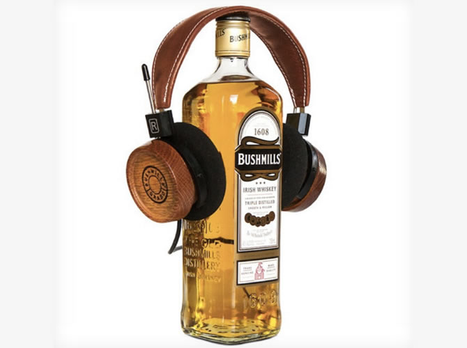 headphones Elijah Wood Limited Edition Grado headphones are built from whiskey barrels