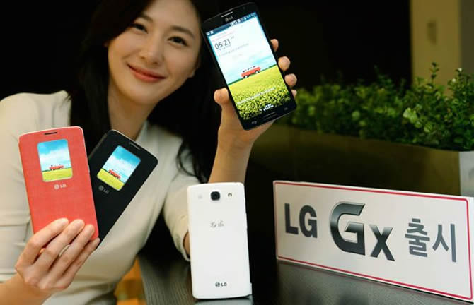 LG Gx officially arrives in South Korea